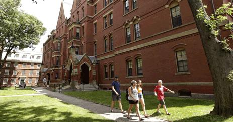 dünyanın en iyi üniversiteleri Harvard Üniversitesinde Eğitim