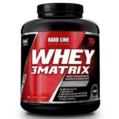 Hardline Whey 3 Matrix Protein Tozu