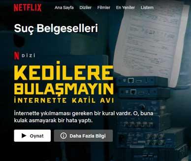 Netflix Belgesel Kategorileri Nelerdir