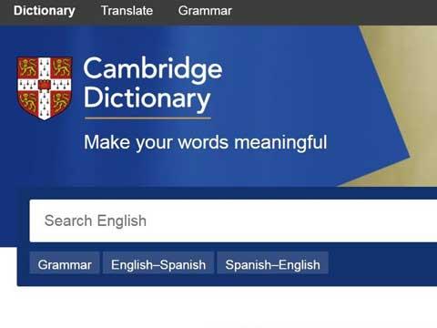 Cambridge Sözlük