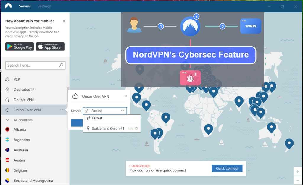 NordVPN CyberSec En İyi Reklam Engelleyici