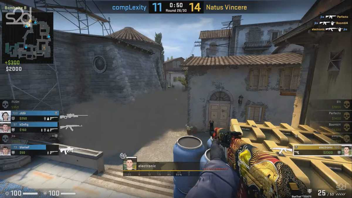 Counter Strike: Global Offensive (GO)