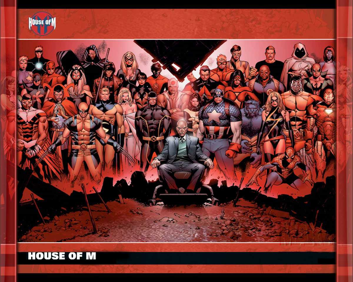 House of M - Marvel En İyi Çizgi Romanlar